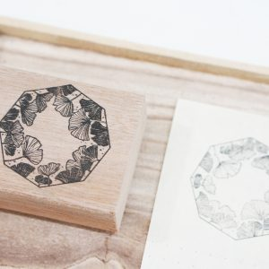 Black Milk Project Rubber Stamps - Gingko
