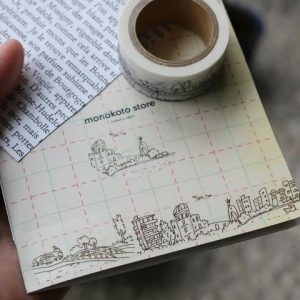 Monokoto x Seiko Sketch Washi Tape - City 01