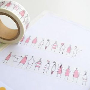 Monokoto Store x Shuzi Orishige Washi Tapes - Monokoto Jin Pink