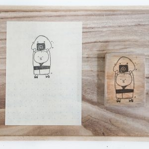 Black Milk Project Rubber Stamps - Onigiri Ojisan