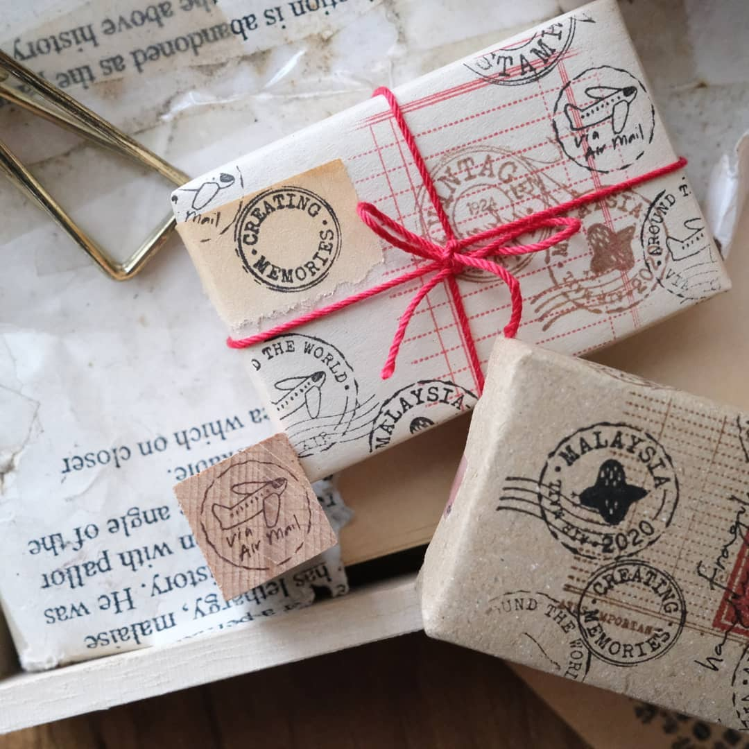 Kurukynki Rubber Stamps - Postal Mark 2020 | TAI Online Store